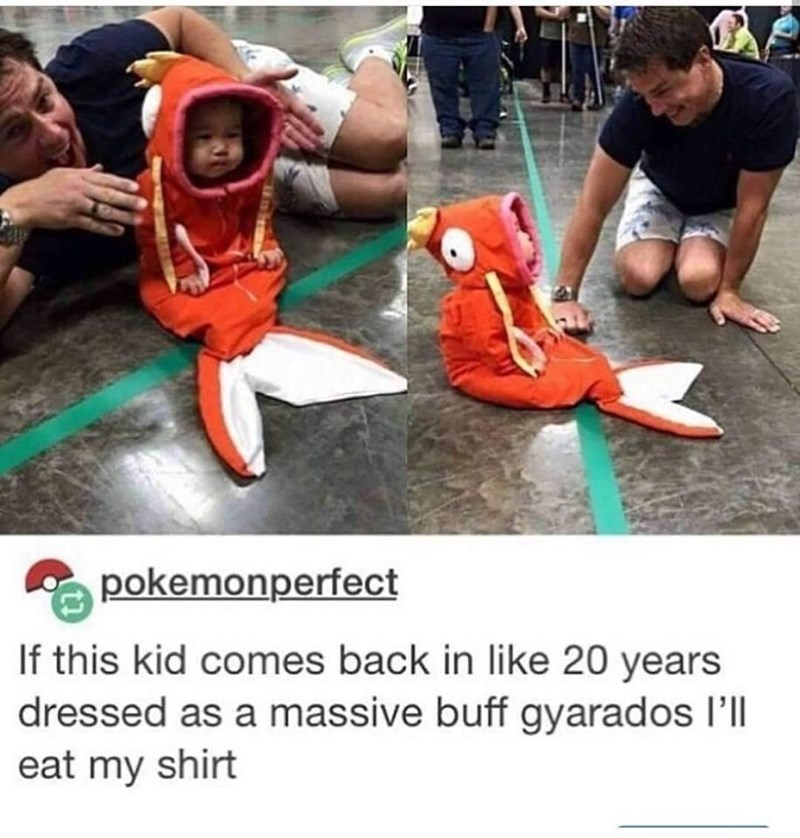 Footwear - pokemonperfect If this kid comes back in like 20 years dressed as a massive buff gyarados I'll eat my shirt