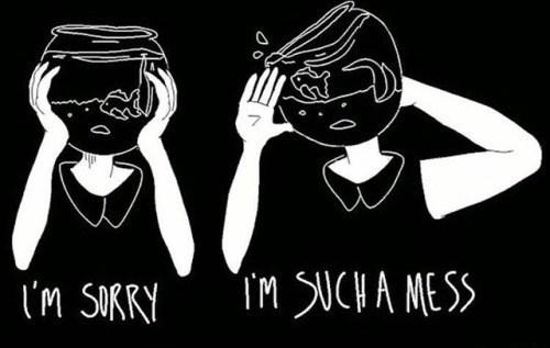 sad spicy memes - Font - TM SUCHA MESS i'm SORRY