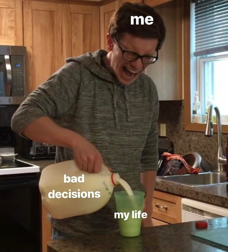 Vegetable - me bad decisions my life
