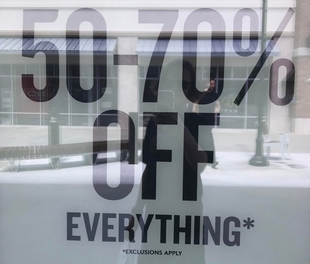 Text - J0 70% 10/4 T0/0 2OFF EVERYTHING* *EXCLUSIONS APPLY