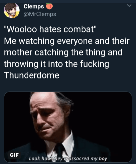 Funny Wooloo meme - The Godfather
