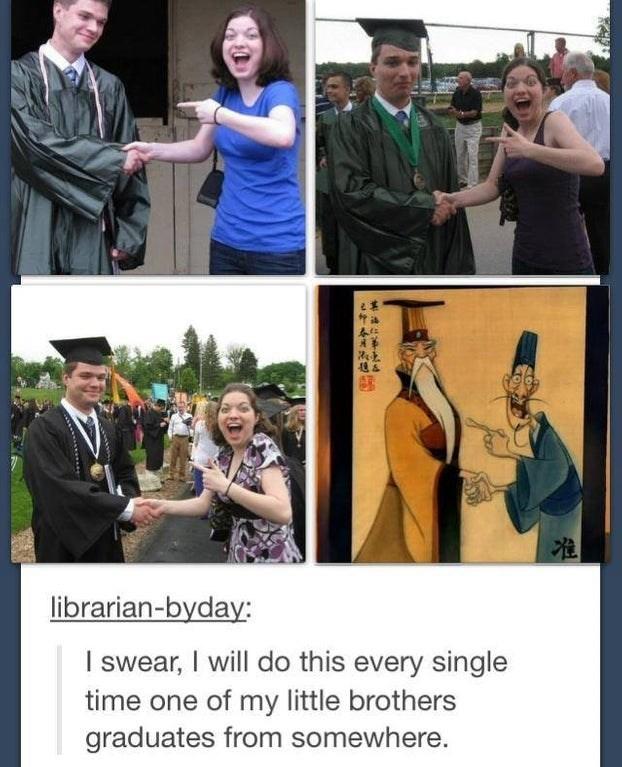 Funny graduation meme - Mulan