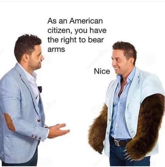 Product - As an American citizen, you have the right to bear arms Nice