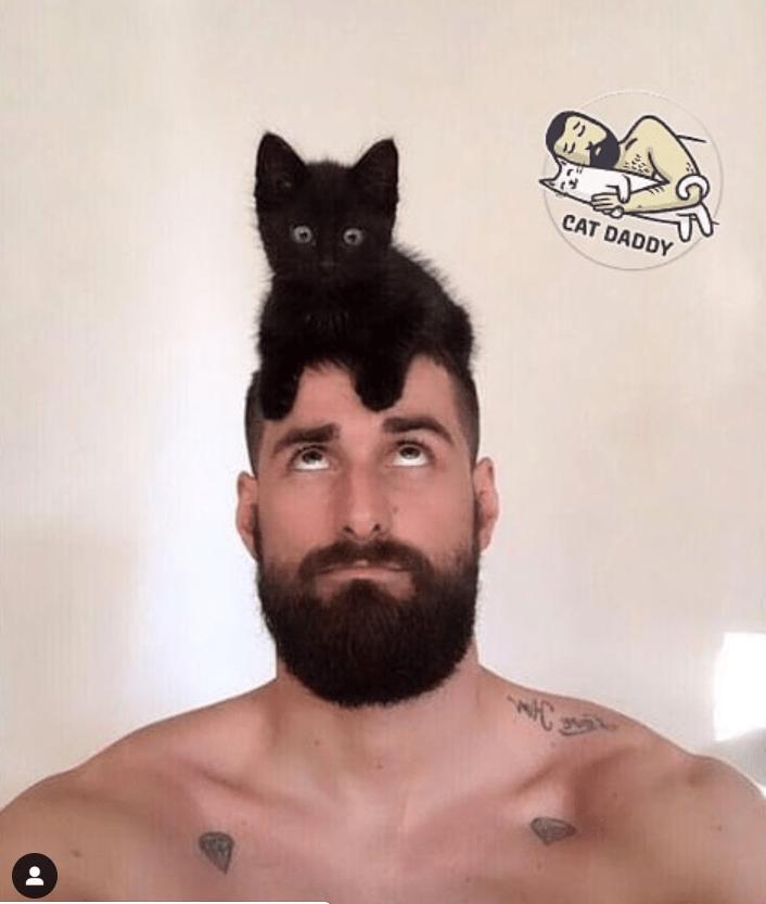 Facial hair - CAT DADDY