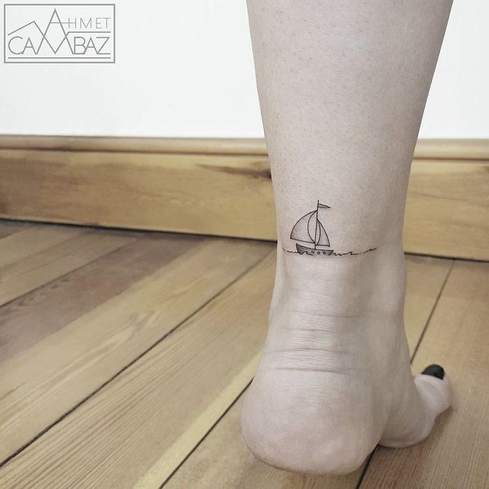 Human leg - HMET BAZ