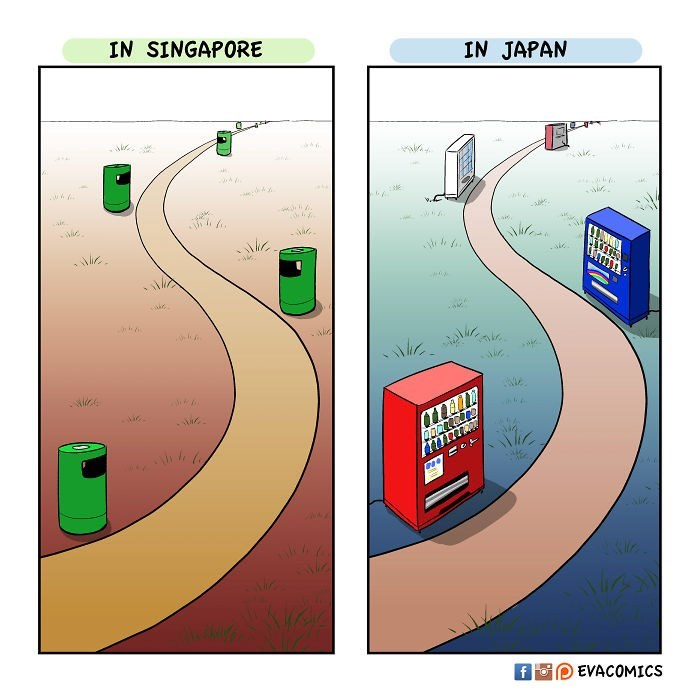 Line - IN SINGAPORE IN JAPAN EVACOMICS f For