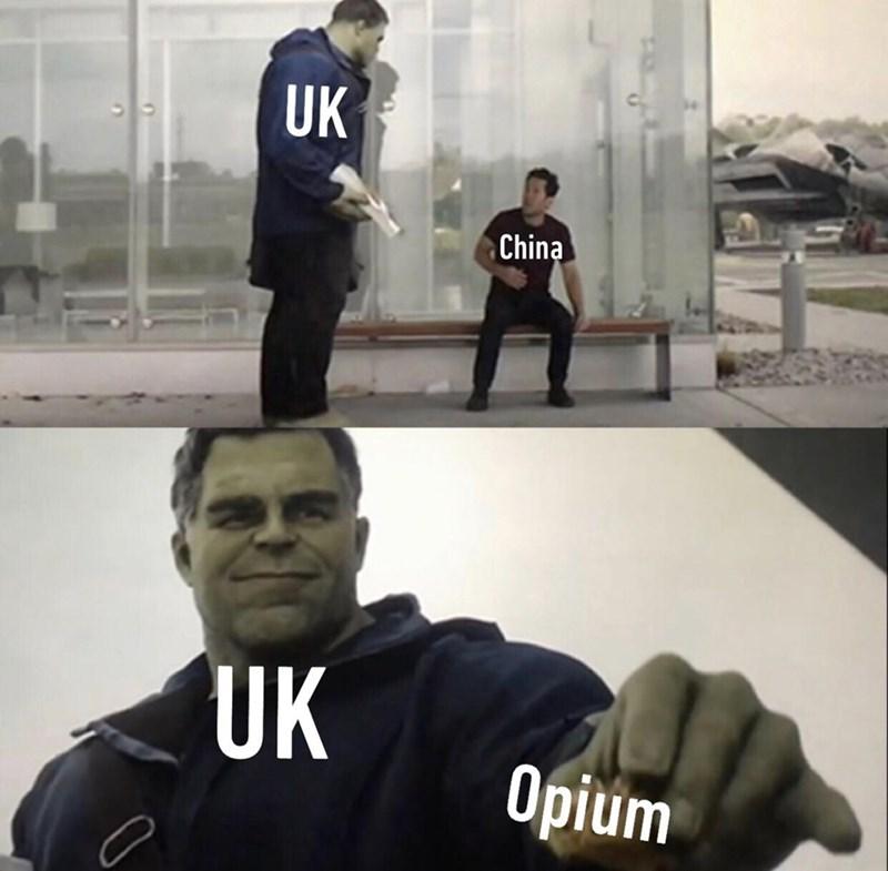dank history memes - Cool - UK China Opium UK