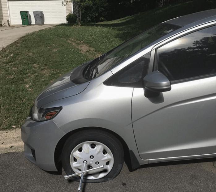 photoshopped tire - Land vehicle