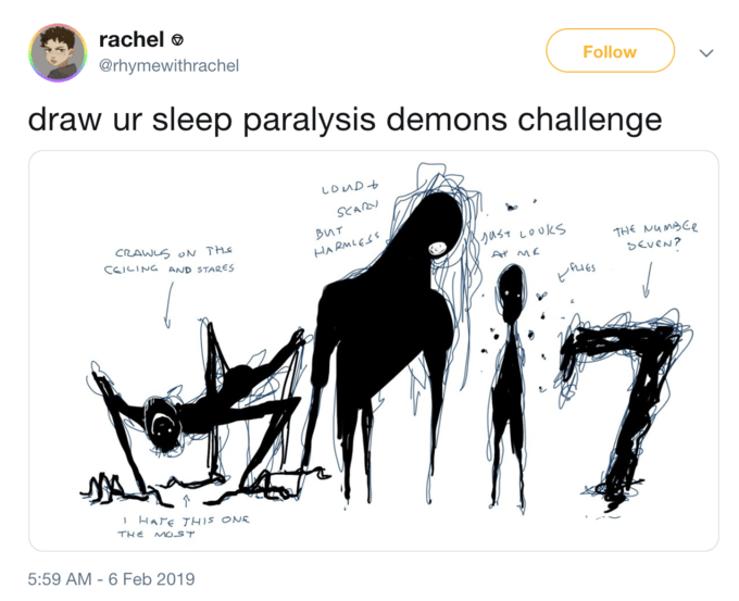 Sleep Paralysis Demon Is A Twitter Meme Made Up Of Literal