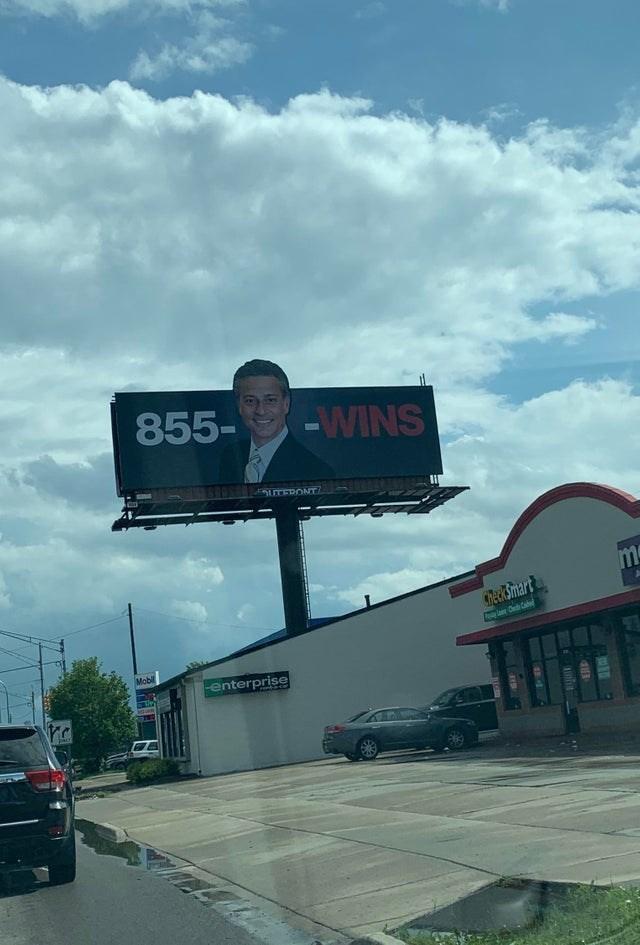 design fails - Billboard - 855- -WINS SUTERONT m 7ec&Smiart oaCdCb Mobl enterprise