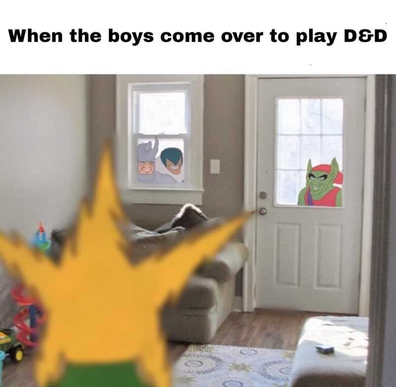 Room - When the boys come over to play D&D EStc unkgGs en