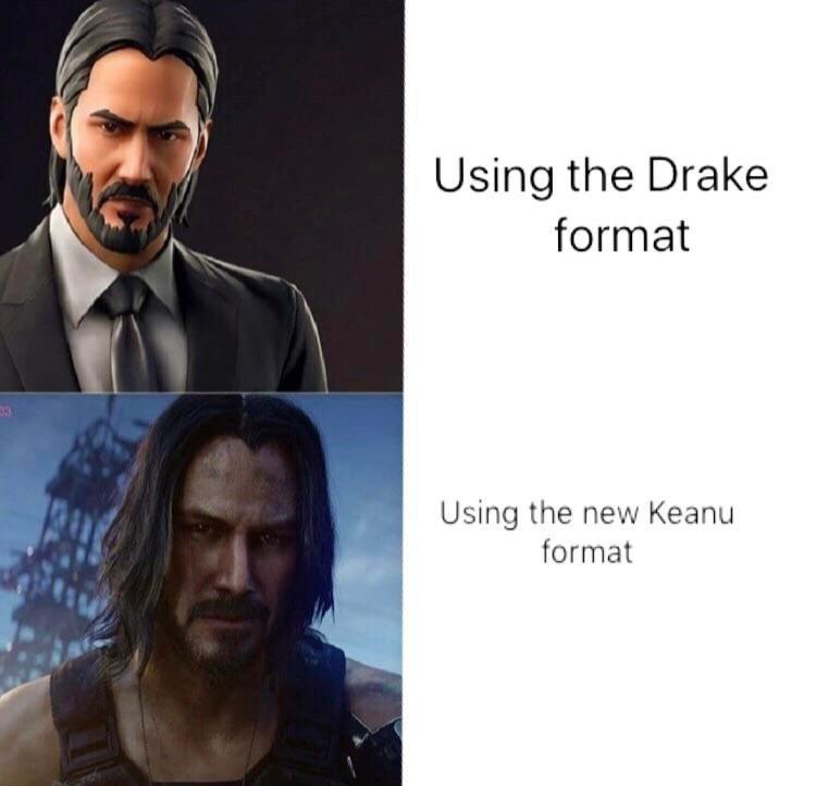 Beard - Using the Drake format 03 Using the new Keanu format