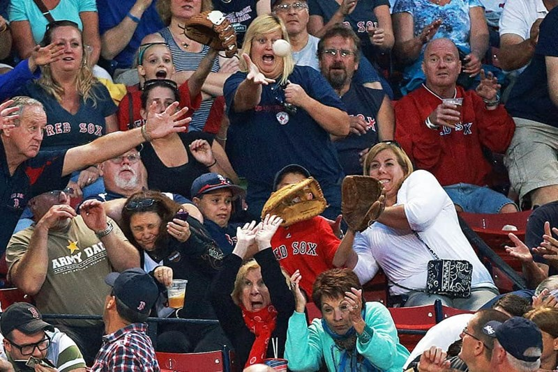 perfectly timed - Fan - SA A RED SOX R ARMY DAL