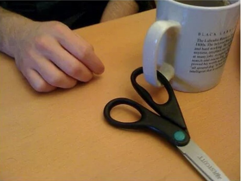 mind blowing - Scissors - The L is The
