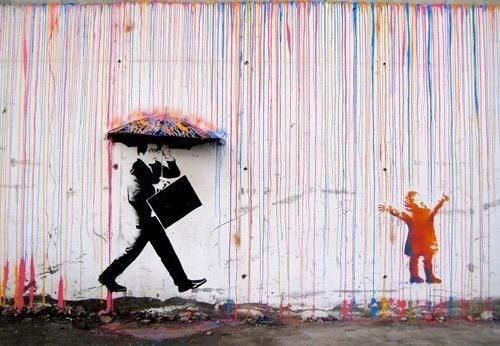 creative graffiti - Street art