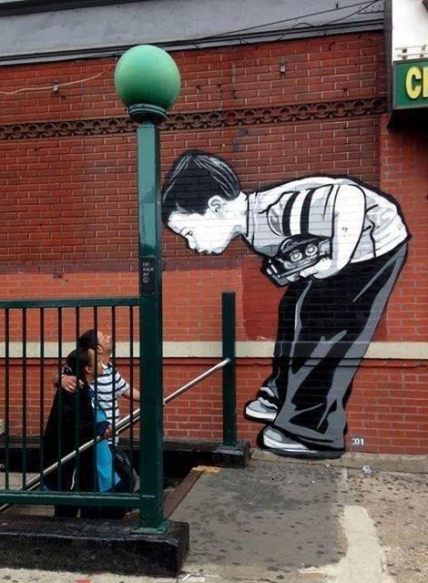 creative graffiti - Street art - KALE 01