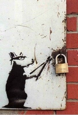 creative graffiti - Wall