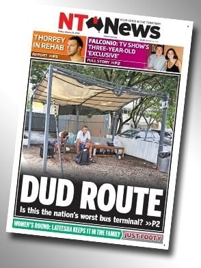 Advertising - ouvesw NTONEWS FALCONIO: TV SHOW'S THREE-YEAR-OLD EXCLUSIVE PLALL STOYP THORPEY IN REHAB RePoT DUD ROUTE Is this the nation's worst bus terminal? »P2 WOMEN'S ROUND: LATEESHA KEEPS IT IN THE FAMILY JUSTFOOTY
