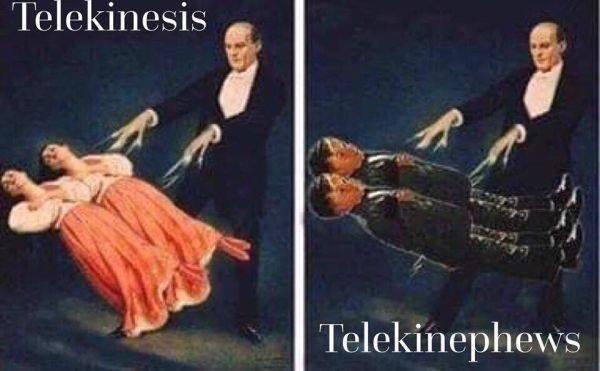 meme - Kung fu - Telekinesis Telekinephews