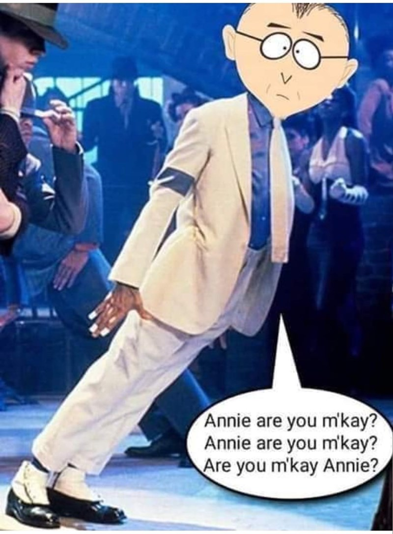 meme - Cartoon - Annie are you m'kay? Annie are you mkay? Are you m'kay Annie?