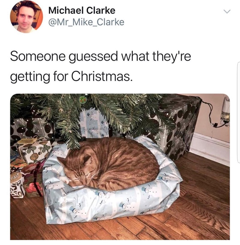 Product - Michael Clarke @Mr_Mike_Clarke Someone guessed what they're getting for Christmas.