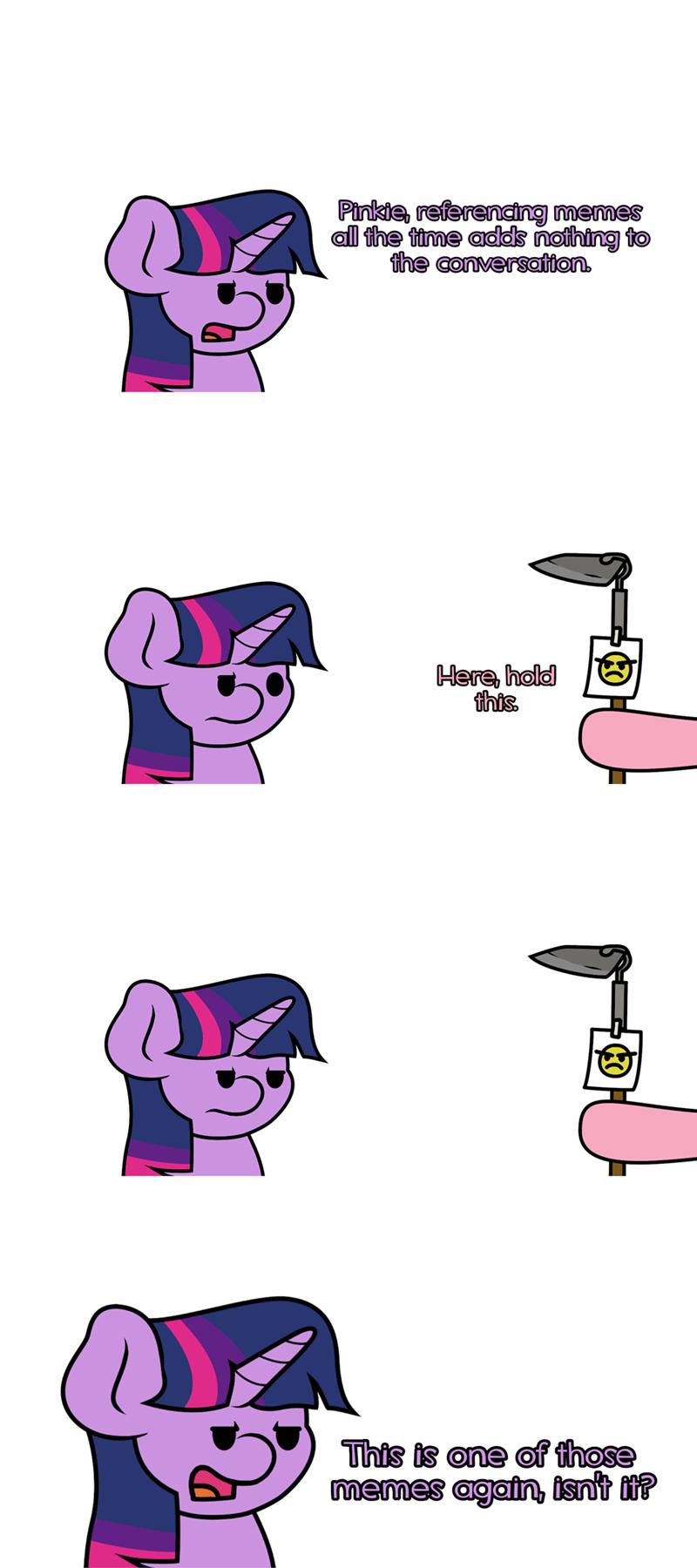 twilight sparkle jandamz puns pinkie pie Memes - 9320037632