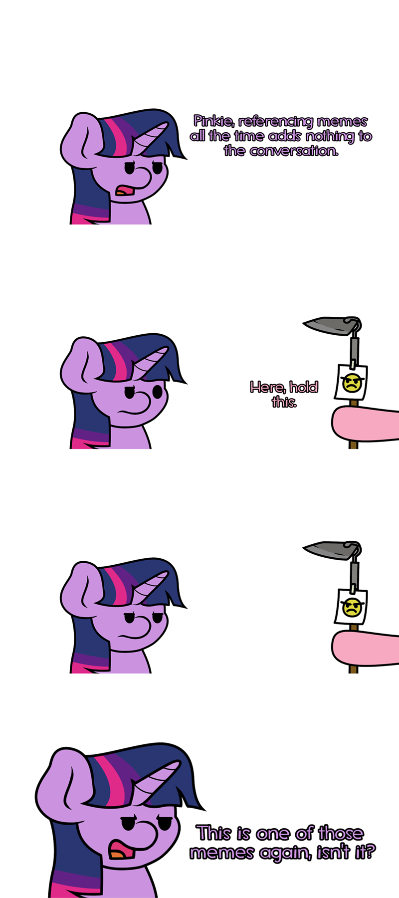 twilight sparkle jandamz puns pinkie pie Memes - 9320037632