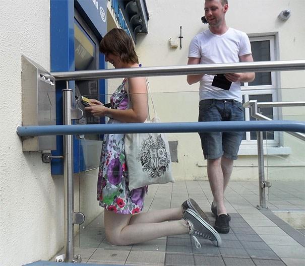 tall people problems - Leg - ATM HO NIG