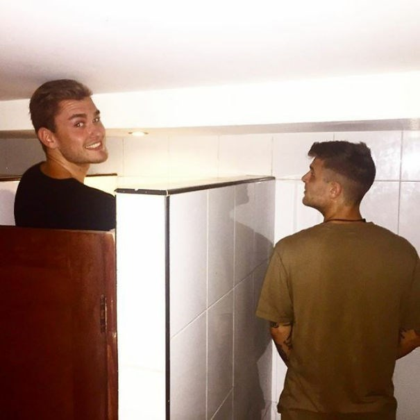 tall people problems - Standing