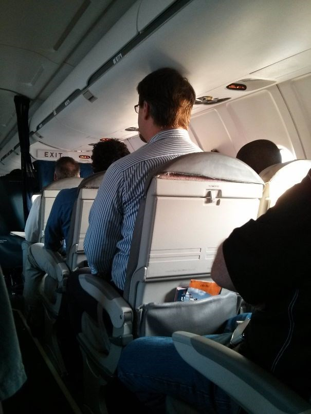 tall people problems - Airline - ET EXIT