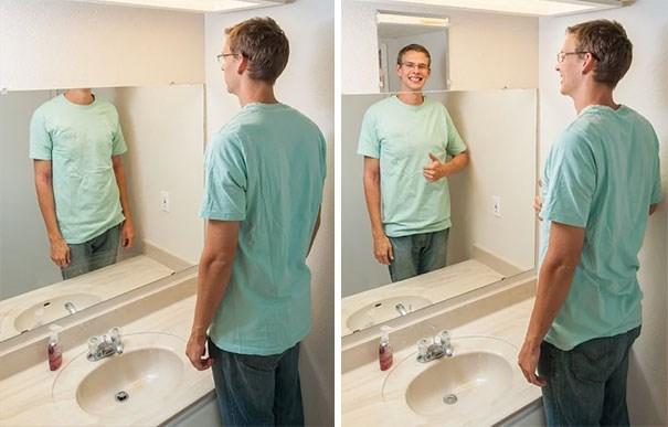 tall people problems - Bathroom