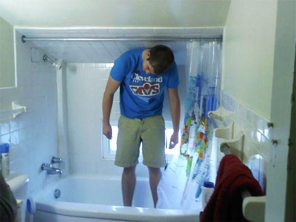 tall people problems - Bathroom - eland SAL