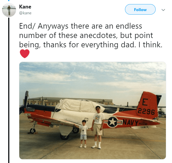 Asian Ron Swanson - Airplane - Kane Follow @kane End/ Anyways there are an endless number of these anecdotes, but point being, thanks for everything dad. I think. E 2296 NAVY 62288 TAW-5