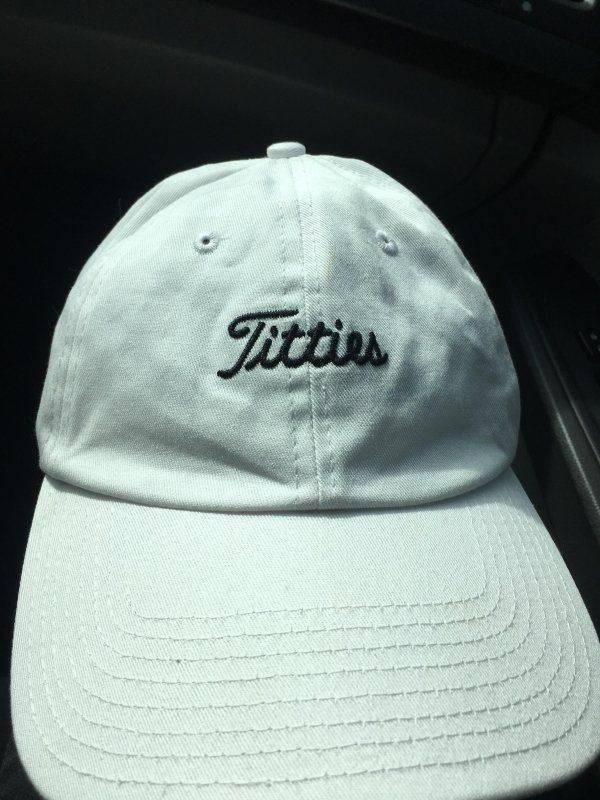 thrift shop - White - Titties