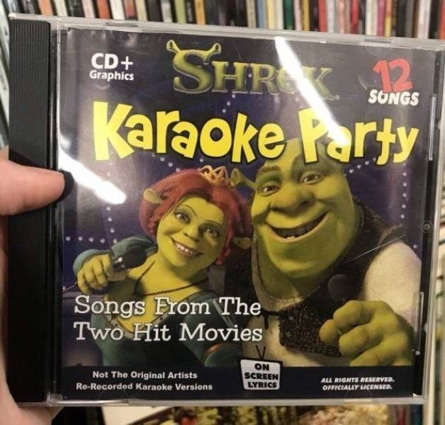 thrift shop - Fictional character - SHR Karaoke Party CD+ Graphics SONGS 12 Songs EromThe Two Hit Movies ON SCREEN LYRICS Not The Original Artists ALL RIGHTS RESERVED OFFICIALLY LICENSED Re-Recorded Karaoke Versions