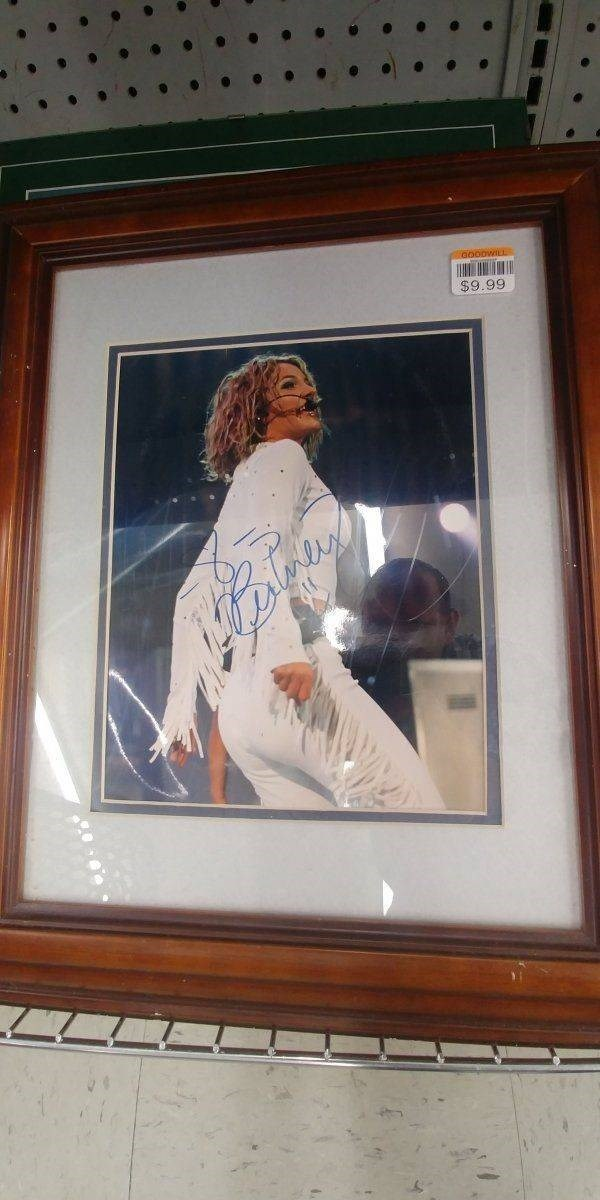 thrift shop - Autograph - $9.99
