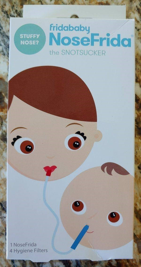 thrift shop - Text - fridababy NoseFrida STUFFY NOSE? the SNOTSUCKER 1 NoseFrida 4 Hygiene Filters