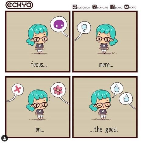 Comic - Cartoon - ССКYO EocOMECOEcCYOEO JЕСKYO focus... More... ...the good. on...