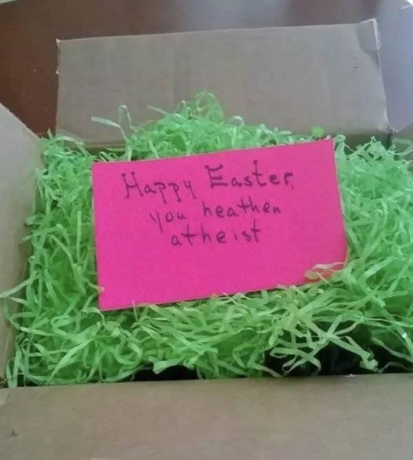 savage moms - Green - Happy aster you heathen atheist