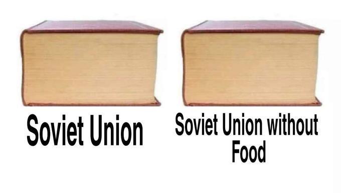 Meme - Wood - Soviet Union without Food Soviet Union