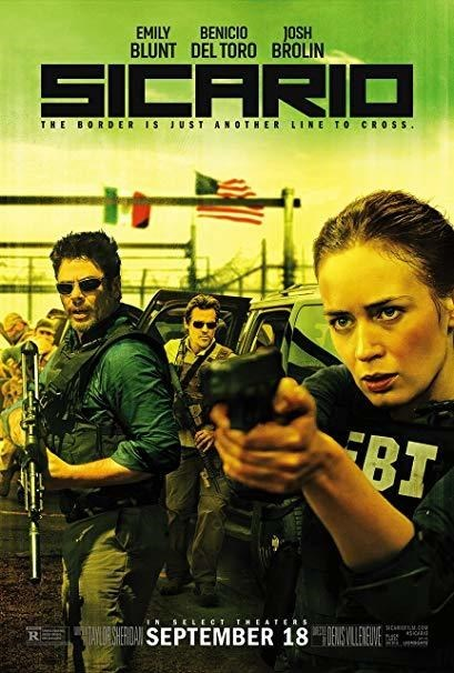 Meme - Movie - EMILY BENICIO BLUNT DELTORO BROLIN JOSH SICARIO THE BORDER IS JUST ANOTHER LINE TO CR OSS BT NSELECT TNEATERS HAILRSERDASEPTEMBER 18 E RE