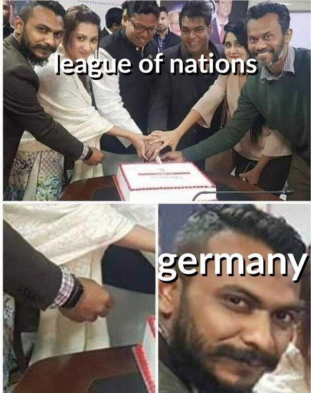 Meme - Facial expression - league of nations germany