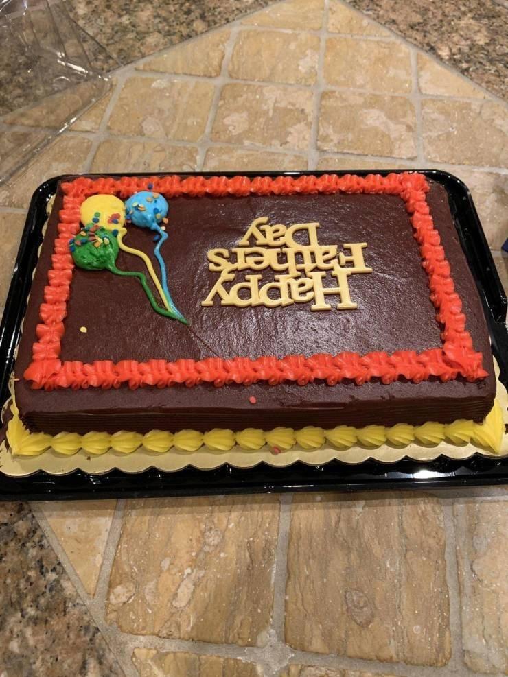 fail - Cake - kade Day