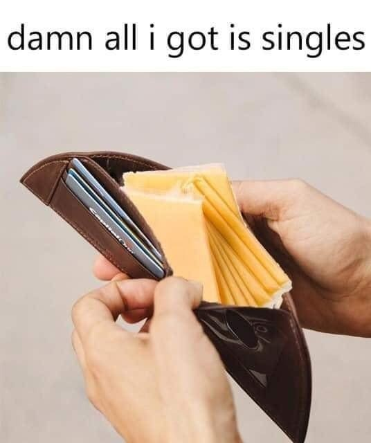 Wallet - damn all i got is singles