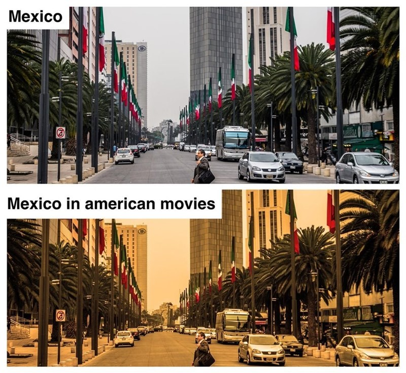 Tree - Mexico Mexico in american movies