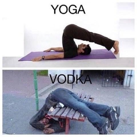 Meme - Tights - YOGA VODKA