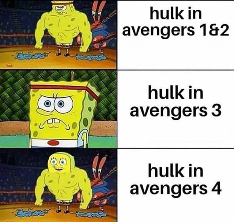 Cartoon - hulk in avengers 1&2 hulk in avengers 3 hulk in avengers 4 80