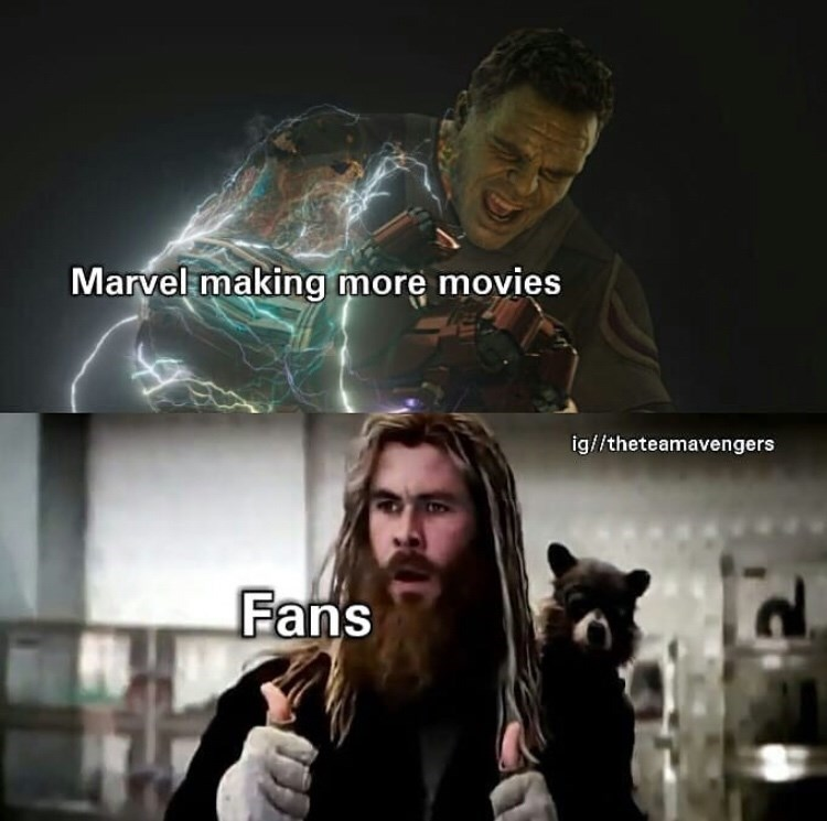 Movie - Marvel making more movies ig//theteamavengers Fans
