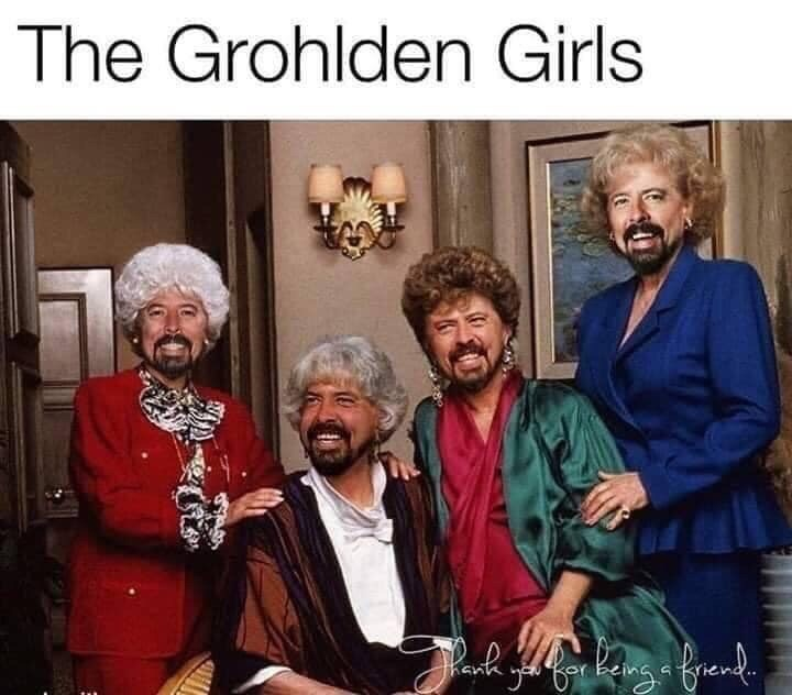 Meme - People - The Grohlden Girls (t