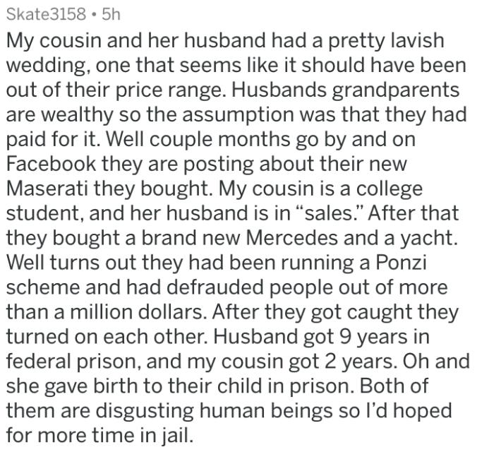 doomed wedding